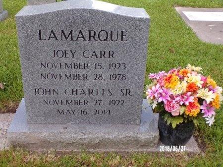 LAMARQUE, JOHN CHARLES, SR - St. Tammany County, Louisiana | JOHN CHARLES, SR LAMARQUE - Louisiana Gravestone Photos