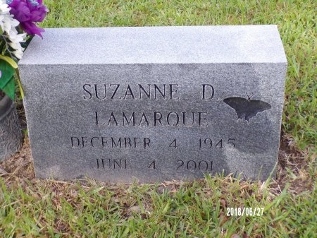 LAMARQUE, SUZANNE D - St. Tammany County, Louisiana   SUZANNE D LAMARQUE - Louisiana Gravestone Photos