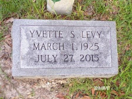 LEVY, YVETTE S - St. Tammany County, Louisiana | YVETTE S LEVY - Louisiana Gravestone Photos
