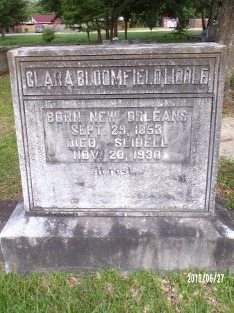 LIDDLE, CLARA - St. Tammany County, Louisiana | CLARA LIDDLE - Louisiana Gravestone Photos