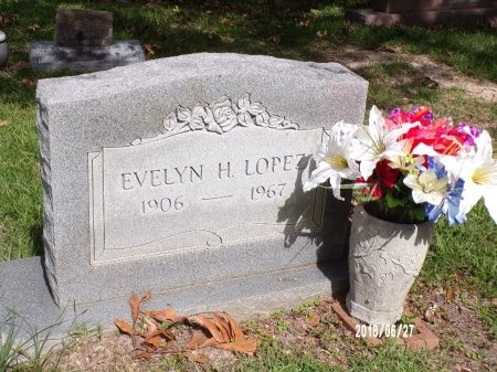 LOPEZ, EVELYN H - St. Tammany County, Louisiana | EVELYN H LOPEZ - Louisiana Gravestone Photos