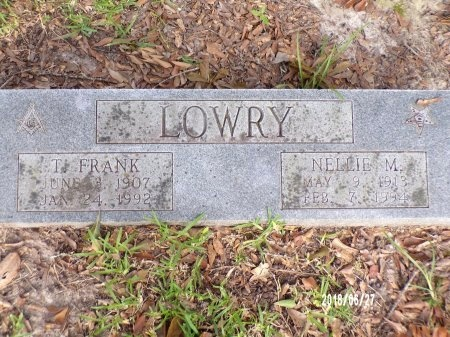 MAYFIELD LOWRY, NELLIE ELIZABETH - St. Tammany County, Louisiana | NELLIE ELIZABETH MAYFIELD LOWRY - Louisiana Gravestone Photos