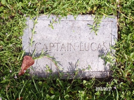LUCAS, CAPTAIN - St. Tammany County, Louisiana | CAPTAIN LUCAS - Louisiana Gravestone Photos