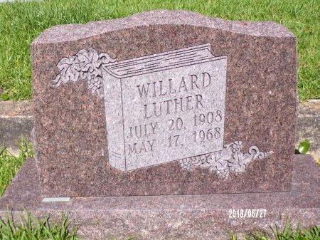 LUTHER, WILLARD - St. Tammany County, Louisiana | WILLARD LUTHER - Louisiana Gravestone Photos