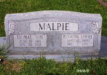 "MALPIE, THOMAS ""TOM"" - St. Tammany County, Louisiana 