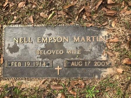 MARTIN, NELL - St. Tammany County, Louisiana | NELL MARTIN - Louisiana Gravestone Photos
