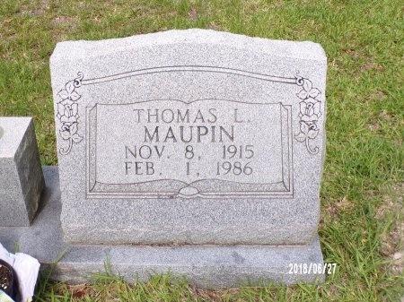MAUPIN, THOMAS L - St. Tammany County, Louisiana | THOMAS L MAUPIN - Louisiana Gravestone Photos