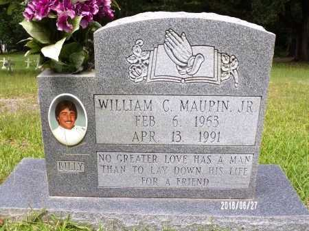 """MAUPIN, WILLIAM C, JR """"BILLY"""" - St. Tammany County, Louisiana   WILLIAM C, JR """"BILLY"""" MAUPIN - Louisiana Gravestone Photos"""