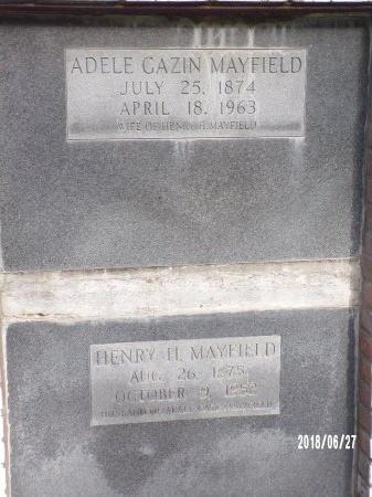 GAZIN MAYFIELD, ADELE - St. Tammany County, Louisiana | ADELE GAZIN MAYFIELD - Louisiana Gravestone Photos