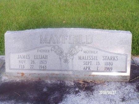 STARKS MAYFIELD, MALISSIE - St. Tammany County, Louisiana | MALISSIE STARKS MAYFIELD - Louisiana Gravestone Photos