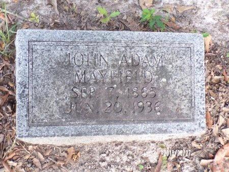 MAYFIELD, JOHN ADAM - St. Tammany County, Louisiana   JOHN ADAM MAYFIELD - Louisiana Gravestone Photos
