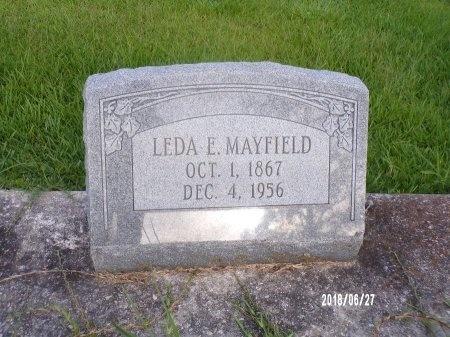 MAYFIELD, LEDA ESTELLE - St. Tammany County, Louisiana   LEDA ESTELLE MAYFIELD - Louisiana Gravestone Photos