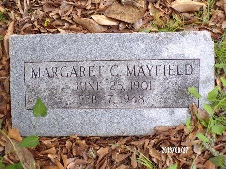 CONROY MAYFIELD, MARGARET (CLOSE UP) - St. Tammany County, Louisiana | MARGARET (CLOSE UP) CONROY MAYFIELD - Louisiana Gravestone Photos