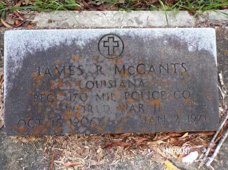 MCCANTS, JAMES R (VETERAN WWII) - St. Tammany County, Louisiana | JAMES R (VETERAN WWII) MCCANTS - Louisiana Gravestone Photos