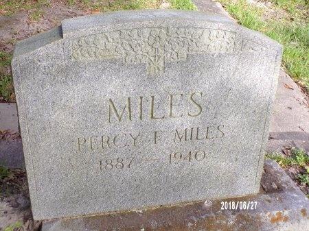 MILES, PERCY F - St. Tammany County, Louisiana | PERCY F MILES - Louisiana Gravestone Photos