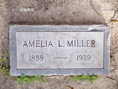 MILLER, AMELIA L - St. Tammany County, Louisiana | AMELIA L MILLER - Louisiana Gravestone Photos