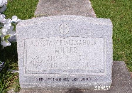 ALEXANDER MILLER, CONSTANCE - St. Tammany County, Louisiana | CONSTANCE ALEXANDER MILLER - Louisiana Gravestone Photos