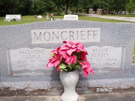 MONCRIEFF, VALENTINE GEORGE - St. Tammany County, Louisiana | VALENTINE GEORGE MONCRIEFF - Louisiana Gravestone Photos