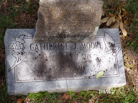 MOORE, CATHERINE J - St. Tammany County, Louisiana | CATHERINE J MOORE - Louisiana Gravestone Photos