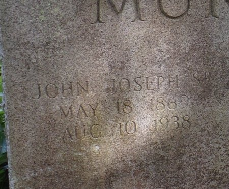 MURPHY, JOHN JOSEPH, SR (CLOSE UP) - St. Tammany County, Louisiana | JOHN JOSEPH, SR (CLOSE UP) MURPHY - Louisiana Gravestone Photos