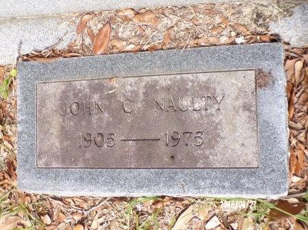NAULTY, JOHN C - St. Tammany County, Louisiana   JOHN C NAULTY - Louisiana Gravestone Photos