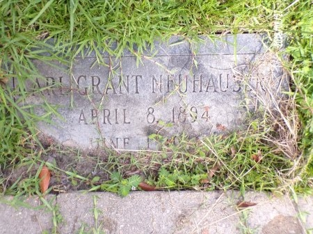 NEUHAUSER, KARL GRANT - St. Tammany County, Louisiana | KARL GRANT NEUHAUSER - Louisiana Gravestone Photos