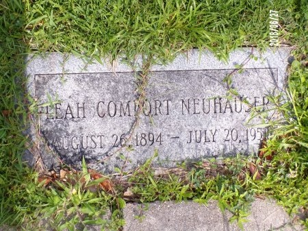 NEUHAUSER, LEAH - St. Tammany County, Louisiana | LEAH NEUHAUSER - Louisiana Gravestone Photos