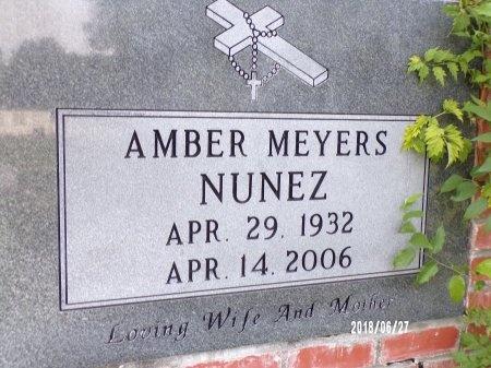 MEYERS NUNEZ, AMBER  - St. Tammany County, Louisiana | AMBER  MEYERS NUNEZ - Louisiana Gravestone Photos