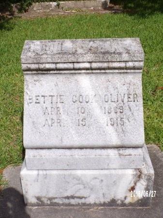 OLIVER, BETTIE - St. Tammany County, Louisiana | BETTIE OLIVER - Louisiana Gravestone Photos