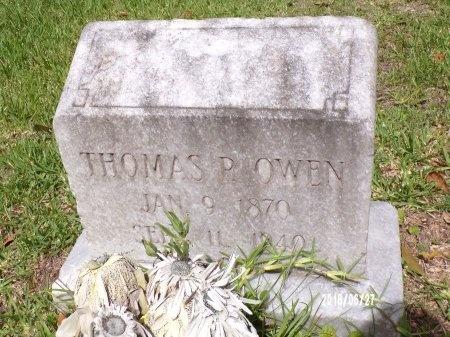 OWEN, THOMAS P - St. Tammany County, Louisiana | THOMAS P OWEN - Louisiana Gravestone Photos