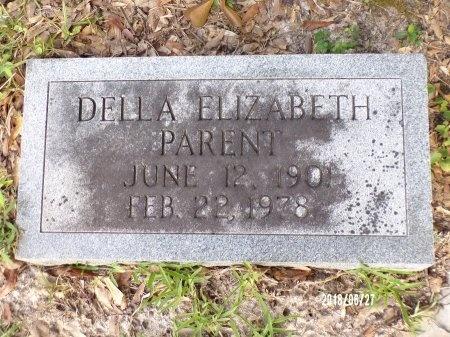 PARENT, DELLA ELIZABETH - St. Tammany County, Louisiana   DELLA ELIZABETH PARENT - Louisiana Gravestone Photos