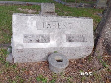 HERRON PARENT, RHOBY - St. Tammany County, Louisiana | RHOBY HERRON PARENT - Louisiana Gravestone Photos