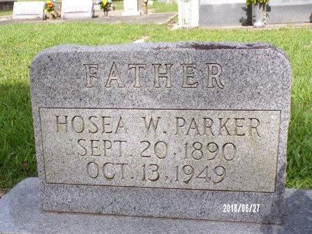 PARKER, HOSEA W (CLOSE UP) - St. Tammany County, Louisiana   HOSEA W (CLOSE UP) PARKER - Louisiana Gravestone Photos