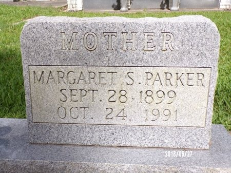 SMITH PARKER, MARGARET (CLOSE UP) - St. Tammany County, Louisiana | MARGARET (CLOSE UP) SMITH PARKER - Louisiana Gravestone Photos