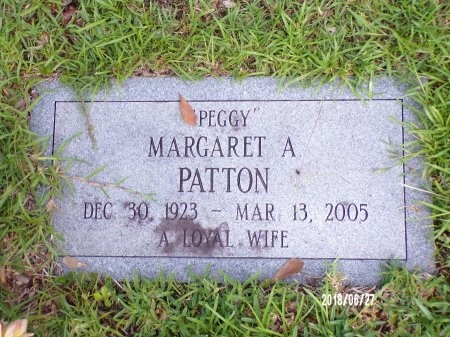 "BOWDEN PATTON, MARGARET A ""PEGGY"" - St. Tammany County, Louisiana 