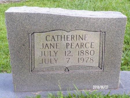 MCPHERSON PEARCE, CATHERINE JANE - St. Tammany County, Louisiana   CATHERINE JANE MCPHERSON PEARCE - Louisiana Gravestone Photos