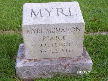 MCMAHON PEARCE, MYRL - St. Tammany County, Louisiana | MYRL MCMAHON PEARCE - Louisiana Gravestone Photos