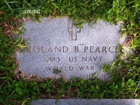 PEARCE, ROLAND BASI L (VETERAN WWI) - St. Tammany County, Louisiana | ROLAND BASI L (VETERAN WWI) PEARCE - Louisiana Gravestone Photos