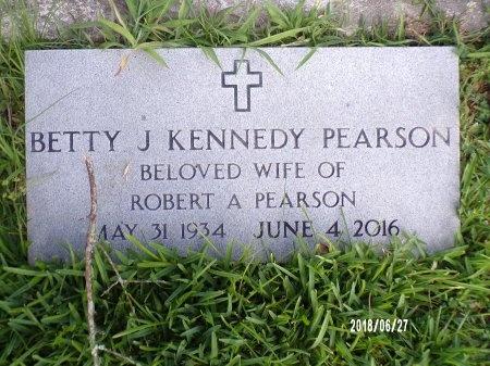 PEARSON, BETTY JEAN - St. Tammany County, Louisiana   BETTY JEAN PEARSON - Louisiana Gravestone Photos
