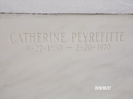 TULLY PEYREFITTE, CATHERINE - St. Tammany County, Louisiana | CATHERINE TULLY PEYREFITTE - Louisiana Gravestone Photos