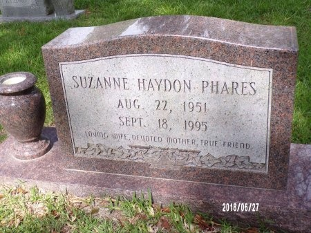 PHARES, SUZANNE - St. Tammany County, Louisiana | SUZANNE PHARES - Louisiana Gravestone Photos