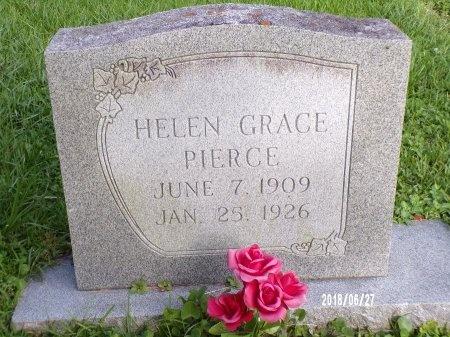 PIERCE, HELEN GRACE - St. Tammany County, Louisiana | HELEN GRACE PIERCE - Louisiana Gravestone Photos