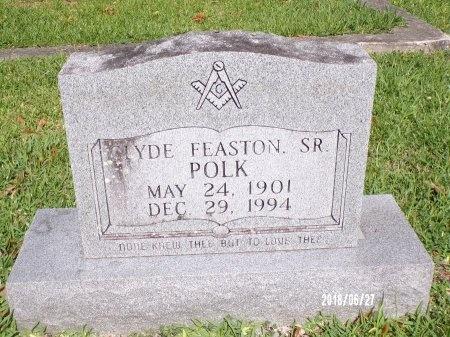 POLK, CLYDE FEASTON, SR - St. Tammany County, Louisiana | CLYDE FEASTON, SR POLK - Louisiana Gravestone Photos