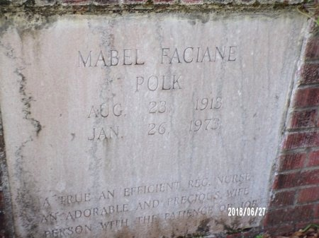 POLK, MABEL (CLOSE UP) - St. Tammany County, Louisiana | MABEL (CLOSE UP) POLK - Louisiana Gravestone Photos