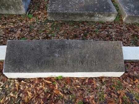 PORTER, OLIVER W - St. Tammany County, Louisiana | OLIVER W PORTER - Louisiana Gravestone Photos