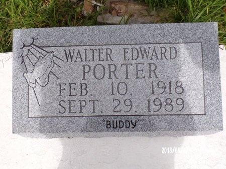 "PORTER, WALTER EDWARD ""BUDDY"" - St. Tammany County, Louisiana | WALTER EDWARD ""BUDDY"" PORTER - Louisiana Gravestone Photos"