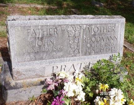 PRATT, JOHN - St. Tammany County, Louisiana   JOHN PRATT - Louisiana Gravestone Photos