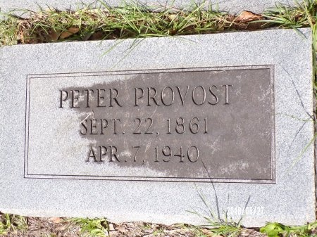 PROVOST, PETER - St. Tammany County, Louisiana   PETER PROVOST - Louisiana Gravestone Photos