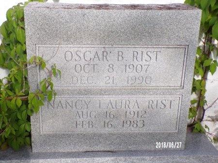 RIST, OSCAR B - St. Tammany County, Louisiana | OSCAR B RIST - Louisiana Gravestone Photos