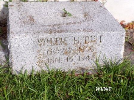 RIST, WILLIAM HENRY - St. Tammany County, Louisiana | WILLIAM HENRY RIST - Louisiana Gravestone Photos